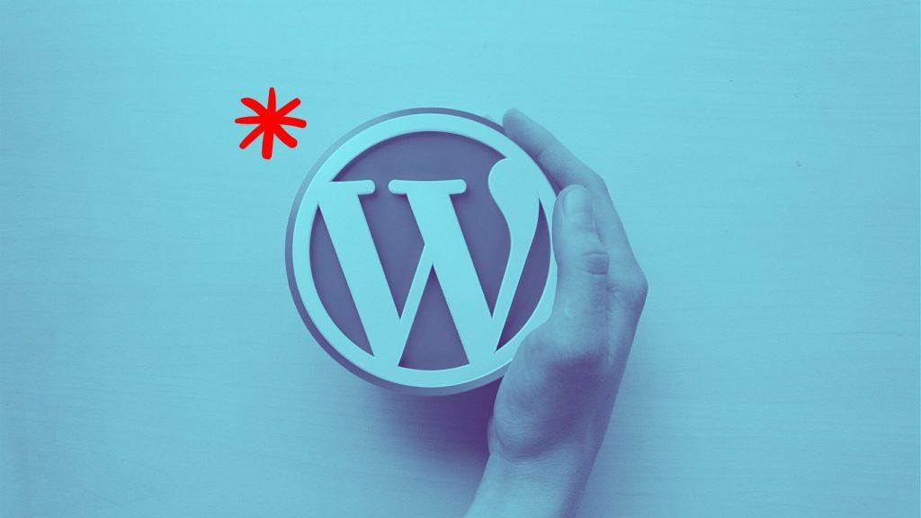 לוגו וורדפרס - בניית אתרי וורדפרס