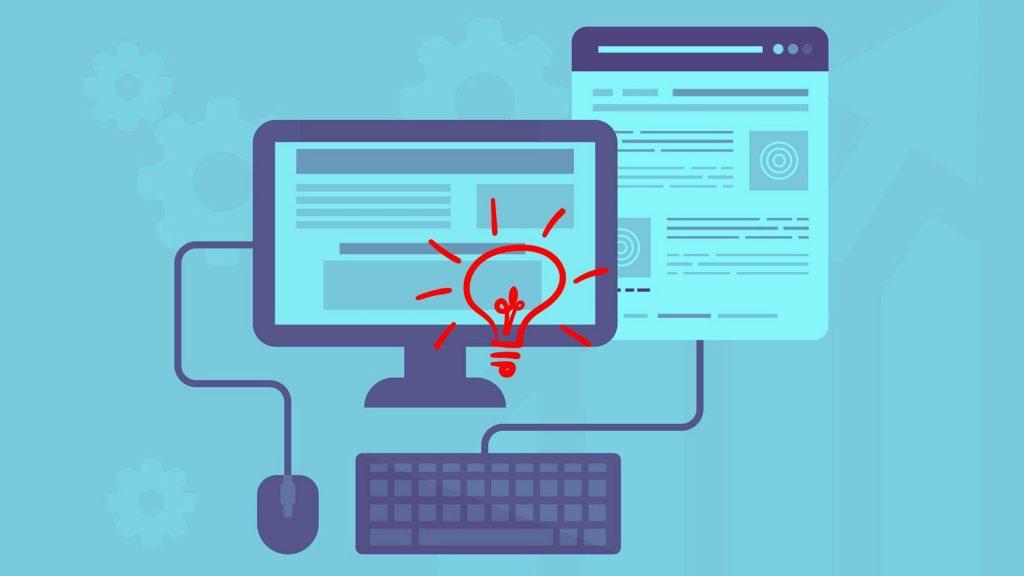 איור מחשב - ניהול ערוצי תוכן