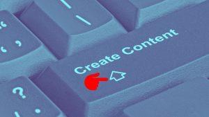 כפתור יצירת תוכן - שיווק באמצעות תוכן